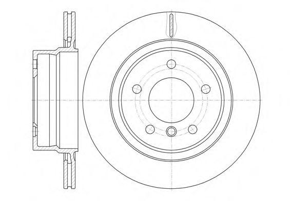 Тормозной диск  арт. 6114510