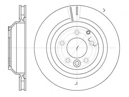 Тормозной диск REMSA 6130210