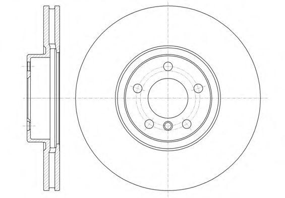 Фото - Тормозной диск (передний мост) REMSA - 6133510