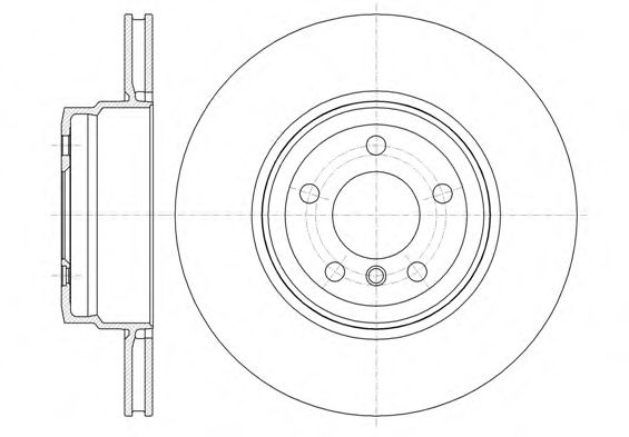 Фото - Тормозной диск (задний мост) REMSA - 6133710