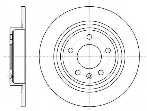 Тормозной диск  арт. 6131500