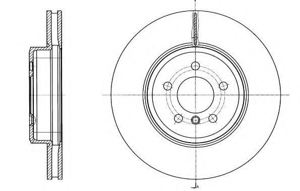 Тормозной диск REMSA 6154910