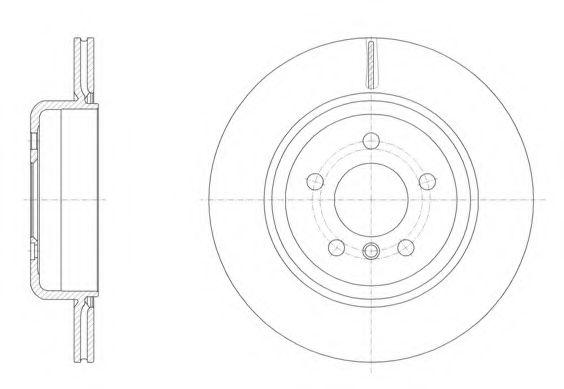 Тормозной диск REMSA 6155010