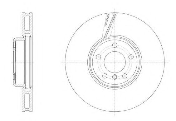 Тормозной диск REMSA 6155210