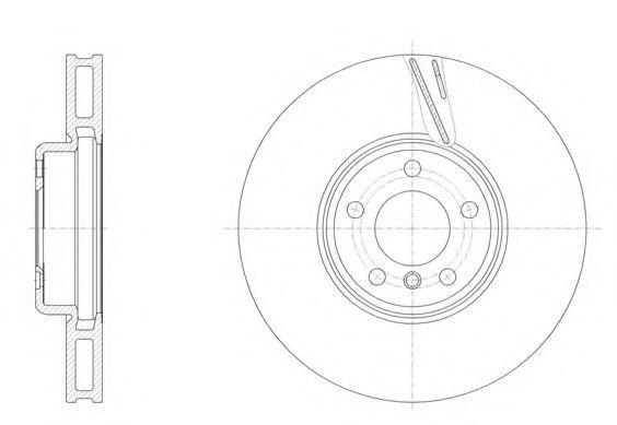 Тормозной диск REMSA 6155211