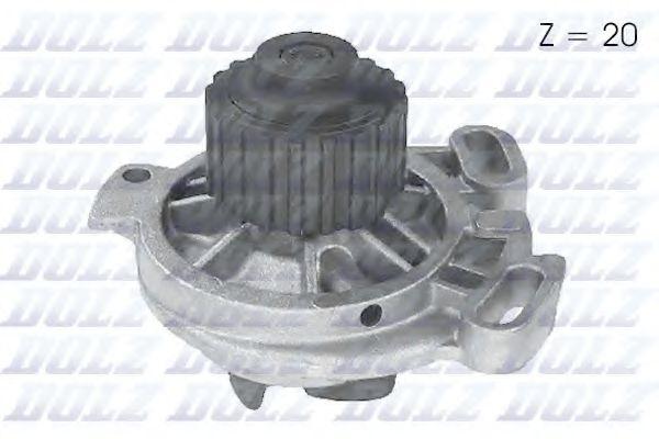 Водяна помпа Audi 100 2.4D/2.5TD 90-94 (20z) DOLZ A169