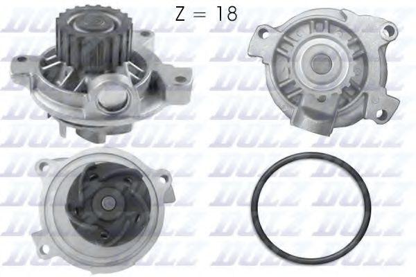 !18z! Водяна помпа VAG 2.5I, 2.5TDI 94- DOLZ A178