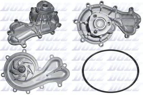 DOLZ Водяная помпа AUDI A6 3.0TDI DOLZ A227