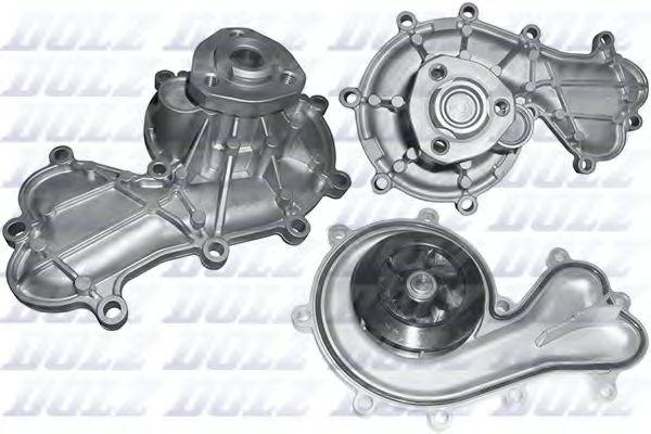 Водяна помпа AUDI A4/A5/A6/A7/A8/Q5 11- 3.0 D/TDI DOLZ A252