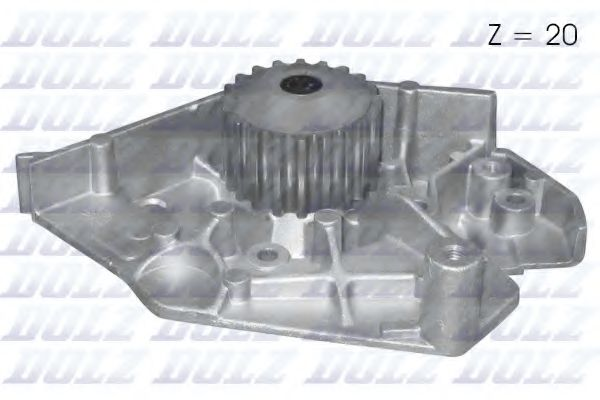 Водяна помпа Peugeot 406/605/806 2.1TD 96- DOLZ C112