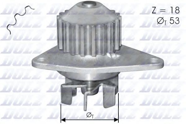 Водяной насос Dolz  арт. C114