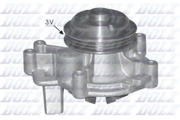 Водяна помпа Fiat Ducato/PSA Boxer/Jumper 2,5D/TD 96- DOLZ C131