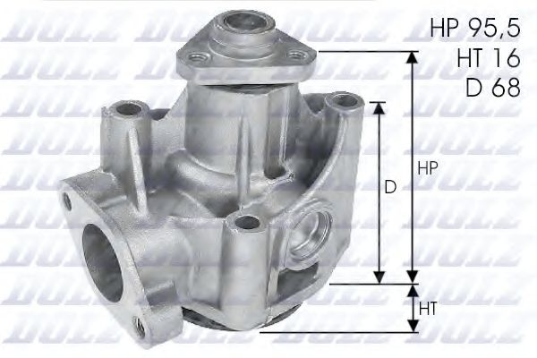 Водяной насос Dolz  арт. L135