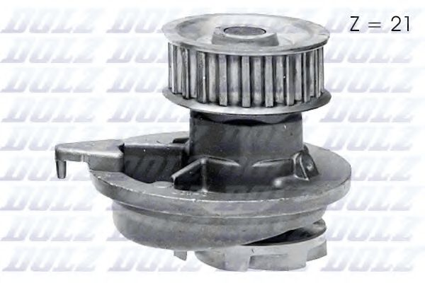 Водяна помпа Opel Kadett D,E 1.6-1.8 Ohc DOLZ O107