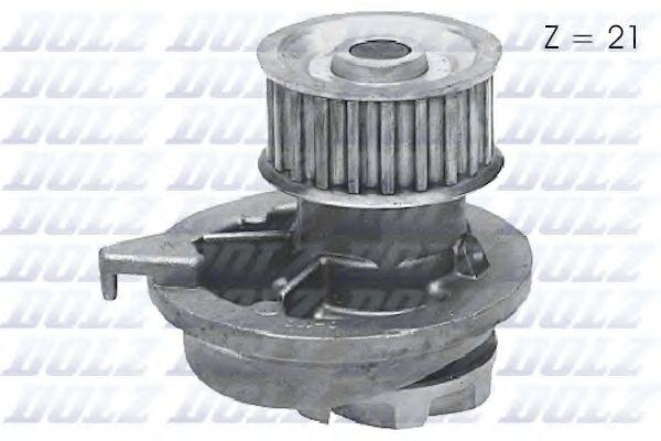 Водяна помпа Opel Kadett D,E 1.6D 82-86 DOLZ O108