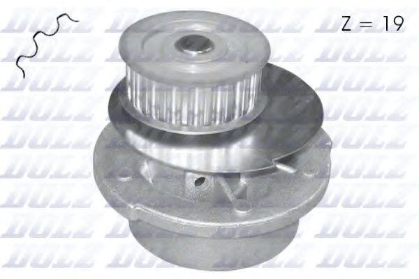 Водяна помпа Opel Kadett, Vectra 1.4-1.6I DOLZ O116