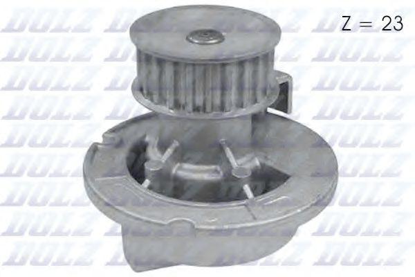 PA427P Водяна помпа Opel Astra G/H 1.8 98-05 Opel Vectra B/C 1.8 95-05 DOLZ O160
