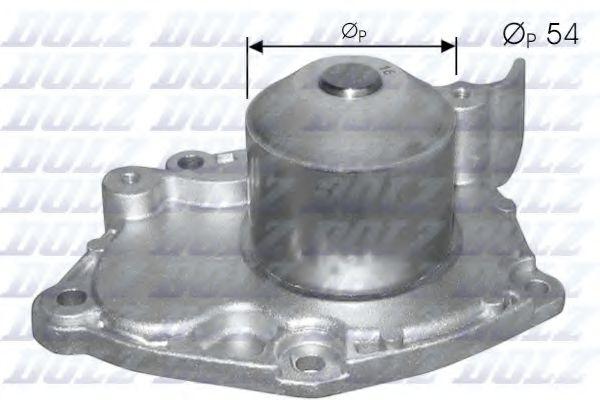 (для 77 01 472 182) Водяна помпа Opel Vivaro// Renault Master, Trafic (F9Q) 1.9DCI 01-  DOLZ R219