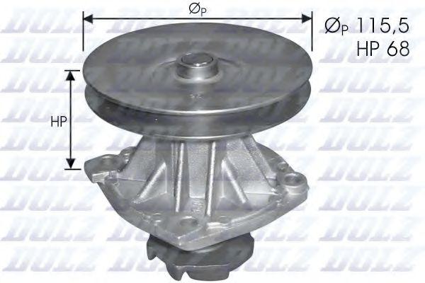 Помпа водяна  арт. S135