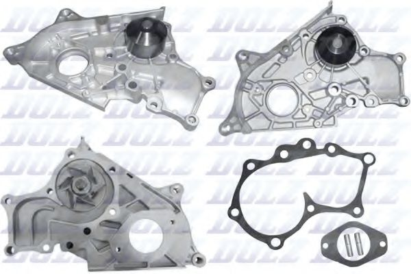 a_Водяний насос TOYOTA Avensis (T220) / Camry седан (V1, V2) / Carina E (T190) / Corolla (_E7_) / Co