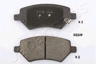 Тормозные колодки дисковые  арт. PA022AF