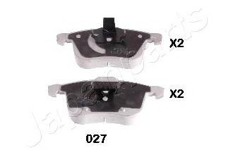 JAPANPARTS CADILLAC Тормозные колодки дисковые BLS, Opel Vectra C 3,0 V6  03- JAPANPARTS PA027AF