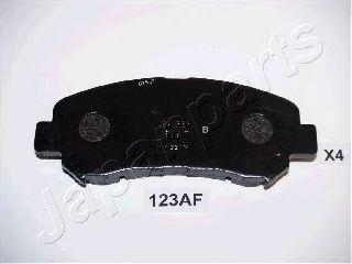 Тормозные колодки дисковые  арт. PA123AF