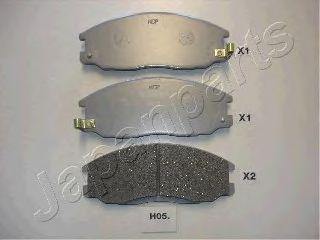 Тормозные колодки дисковые  арт. PAH05AF