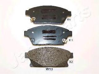 JAPANPARTS CHEVROLET Тормозные колодки пер.Opel Astra,Cruze 09- (16 ) JAPANPARTS PAW13AF