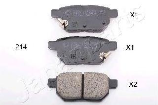 Тормозные колодки дисковые  арт. PP214AF