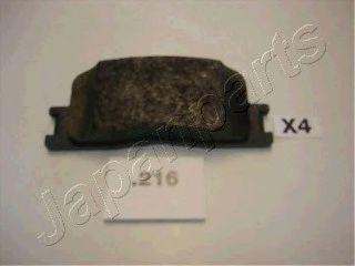 Тормозные колодки дисковые  арт. PP216AF