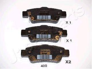 Тормозные колодки дисковые  арт. PP400AF