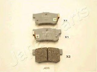 Комплект тормозных колодок, дисковый тормоз  арт. PP405AF