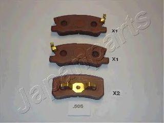 Тормозные колодки дисковые  арт. PP505AF