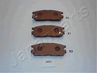 Комплект тормозных колодок, дисковый тормоз  арт. PP999AF