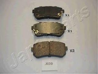 Тормозные колодки дисковые  арт. PPK09AF