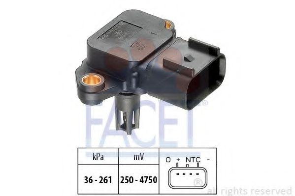 Датчик давления вакуумного усилителя Датчик  вакуума FACET арт. 103076