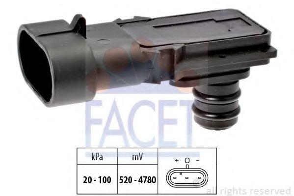 Датчик давления вакуумного усилителя Датчик  вакуума FACET арт. 103023