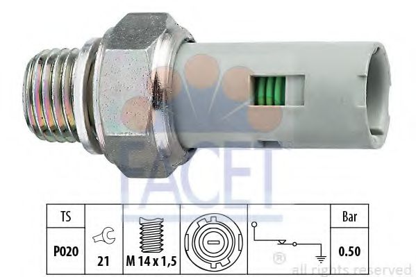 OIL PREASURE SENSOR eps 1800151