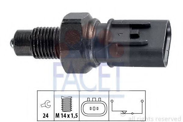 REVERSE LIGHT SWITCH eps 1860235