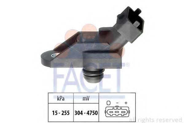 Датчик давления вакуумного усилителя Датчик  вакуума FACET арт. 103014