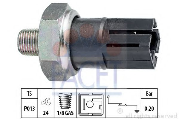 OIL PREASURE SWITCH eps 1800042