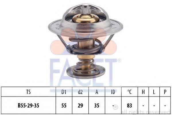 1 880 323S Термостат FACET 78323S