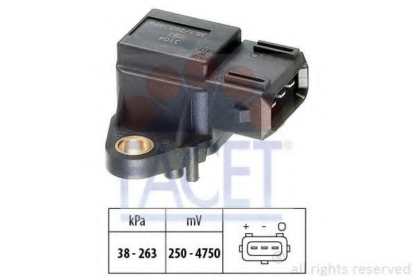 Датчик давления вакуумного усилителя Датчик  вакуума FACET арт. 103104