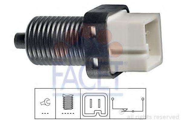 1 810 091 Выключатель стоп-сигнала  арт. 71091