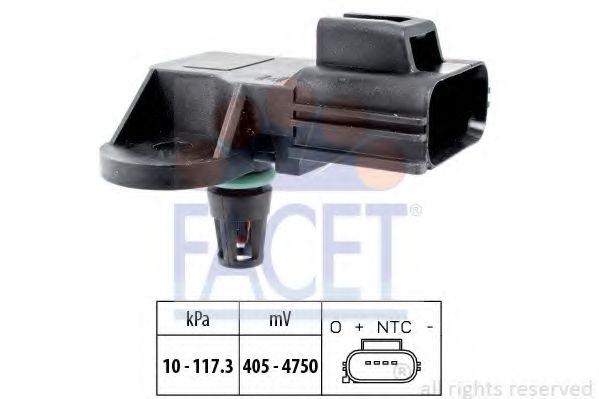 Датчик давления вакуумного усилителя Датчик  вакуума FACET арт. 103100