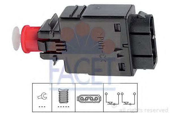 1 810 081 Выключатель стоп-сигнала  арт. 71081