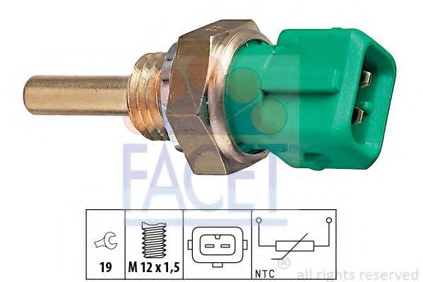 Температурный датчик охлаждающей жидкости, Датчик, температура охлаждающей жидкости, Датчик, температура охлаждающей жидкости  арт. 73147
