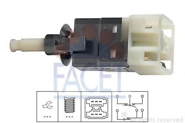 BRAKE LIGHT SWITCH eps 1810206
