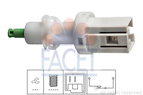 1 810 068 Выключатель стоп-сигнала  арт. 71068